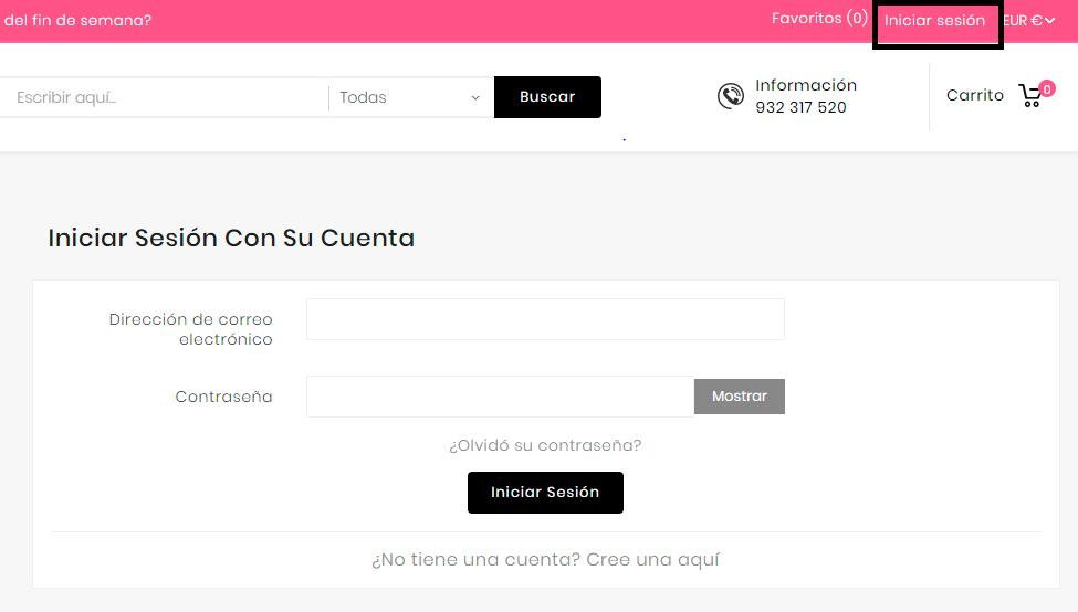 Onadas - Web de venta online de productos de peluqueria y belleza